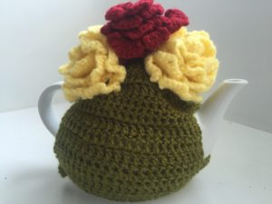 Tea Cosy with Flowers