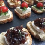 A Row of Canapés