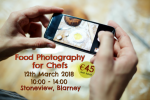 Food Photography Wrkshop for Chefs