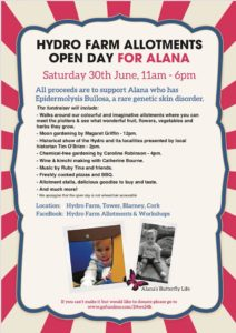 Open Day for Alana @ Hydro Farm Allotments  | Blarney | County Cork | Ireland