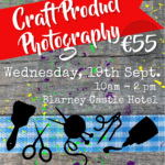 Craft Product Photography Workshop