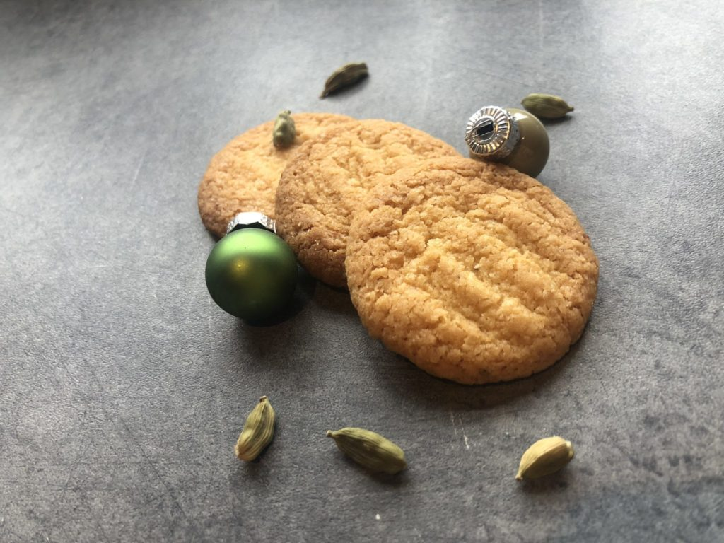 Tangerine & Cardamom Cookies