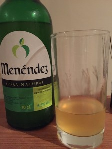Spanish Cider - Mendénez Tasting Notes